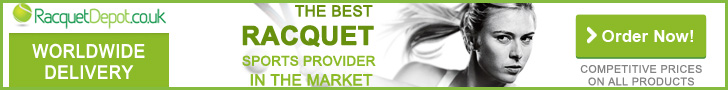 Competitve Prices & Worldwide Delivery at Racquet Depot UK